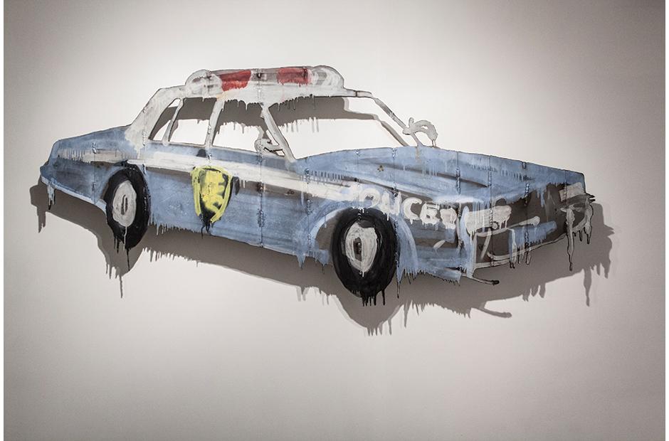 COP CAR, NYPD