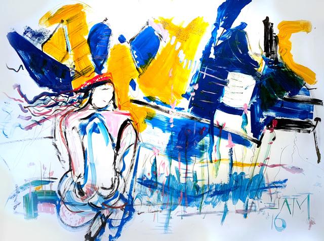 , 'Bathe,' 2016, Tufenkian Fine Arts