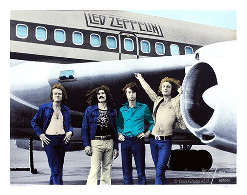 , 'Led Zeppelin-NYC-1973,' 1973, Gary Lichtenstein Editions & Perry J. Cohen Foundation