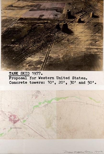Dennis Oppenheim, 'Tank skid', 1977, Finarte