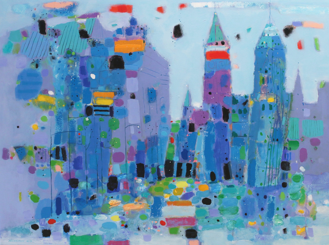 , 'City Center,' , Madrona Gallery