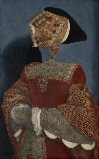 , 'Caput # 01 / 881, based on JANE SEYMOUR (ca. 1509-1537) by Hans Holbein d. J.,' 2018, Galerie Reinthaler