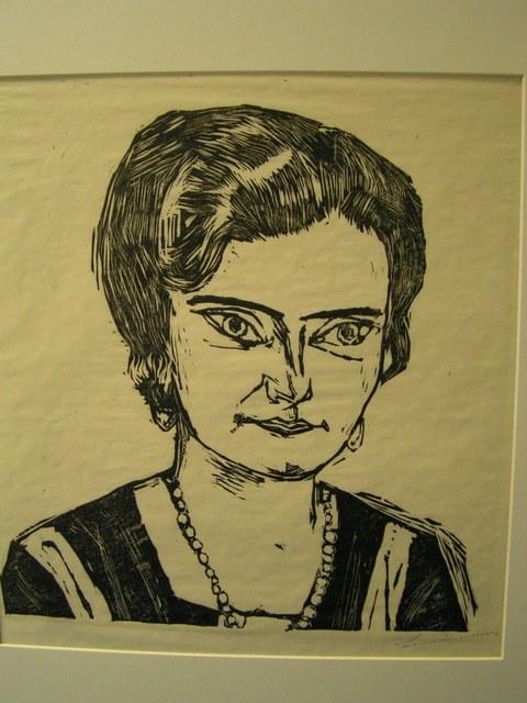 , 'Frau H. M. (Nalia),' 1923, Worthington Gallery