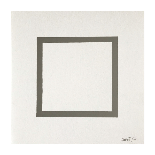 Sol LeWitt, 'Square (from Geometric Figures)', 1986, MLTPL