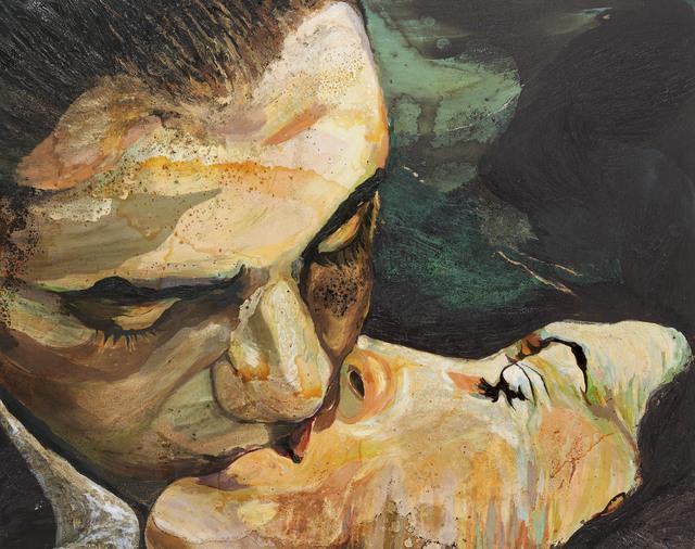 , 'Der Kuss,' 2007, Ludorff