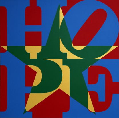 , 'Star of HOPE (Blue/Green/Gold/Red) - Unique,' 2013, Contini Art UK