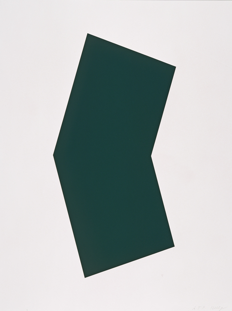 Ellsworth Kelly, 'Green', 2001, Gemini G.E.L.