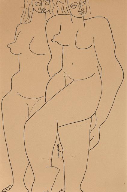 , 'Two Figures,' 1932, Caviar20