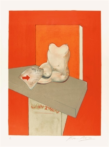 , 'Study of a human body after Ingres ,' 1984, Fairhead Fine Art Limited