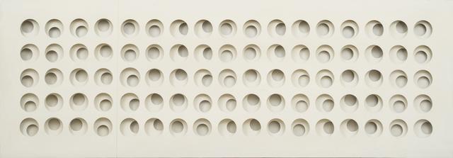 , 'Intersuperficie curva bianca ,' 1967, Galleria il Ponte