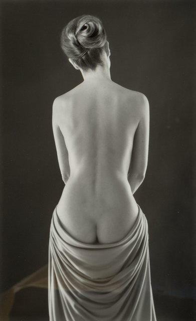 Ruth Bernhard, 'Draped Torso', 1962-printed later, Heritage Auctions