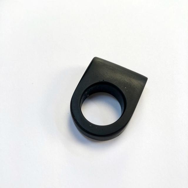 , 'Black Minimal Ring,' , Bullseye Projects