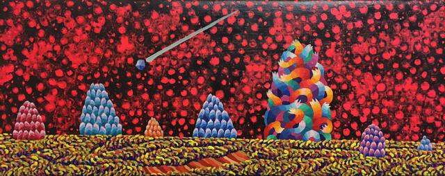 , 'Pattern C-1, 2 +S-3,' 2017, Leehwaik Gallery