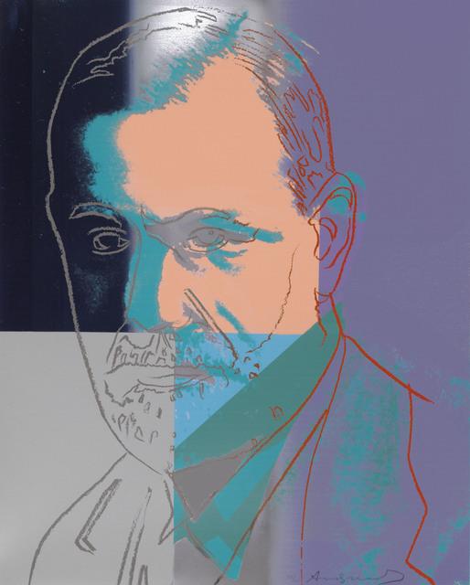 Andy Warhol, 'Sigmund Freud, from Ten Portraits of Jews of the Twentieth Century', 1980, Christie's