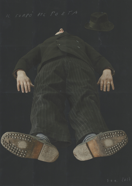 , 'Il Corpo del Poeta,,' 2017, Edwynn Houk Gallery