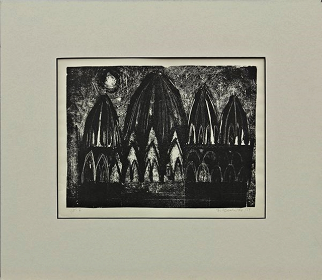 , 'FACADE (Exhibited at the San Francisco Museum of Art),' 1954, Alpha 137 Gallery