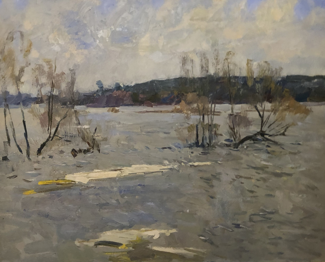 , 'Last ice on River,' 1974, Gallery 901
