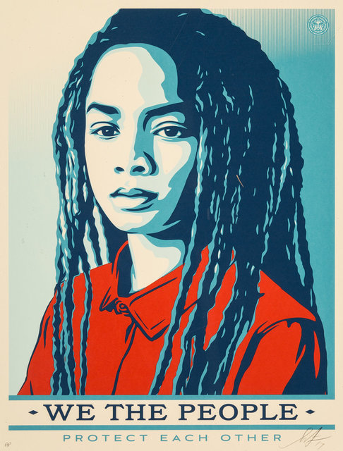 Shepard Fairey, 'Untitled, from We the People', 2017, Heritage Auctions