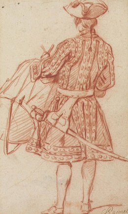, 'A drummer, seen from behind,' , Christie's Old Masters