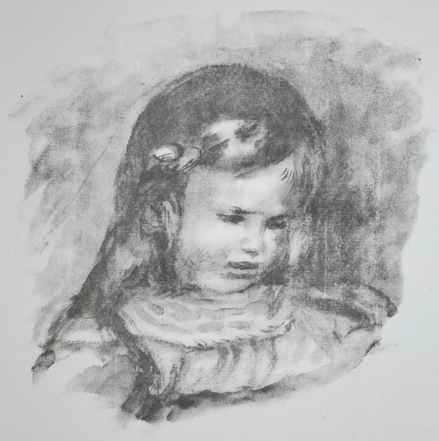 Pierre-Auguste Renoir, 'Claude Renoir, La Tete Baissee (Claude Renoir, Looking Down)', 1919, Georgetown Frame Shoppe