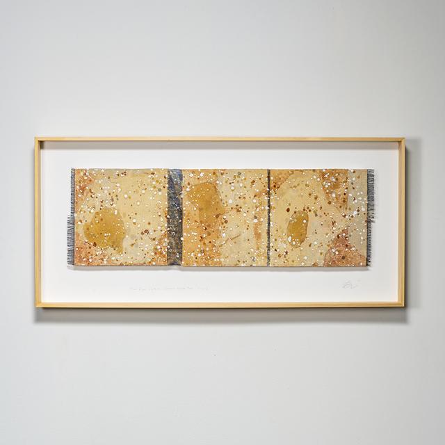 Chiyoko Tanaka, 'Mud-Dyed Cloth - Ocher. White Mud Dots', 2018, browngrotta arts