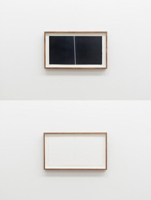 , 'natural structure (diptych, composed of #D2 and #D3),' 2018, Maus Contemporary