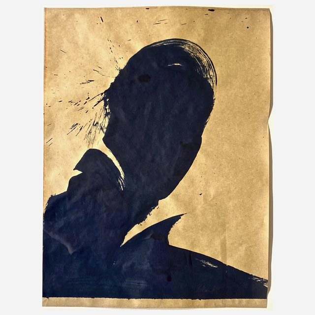 Richard Hambleton, 'Untitled (Shadow Head Portrait)', 2002, Artsy x Wright