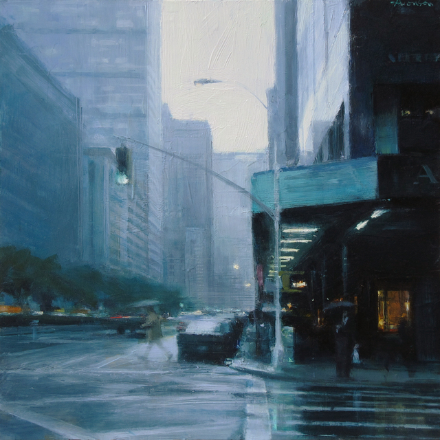 , 'Rain, Park Avenue,' 2018, Jenkins Johnson Gallery