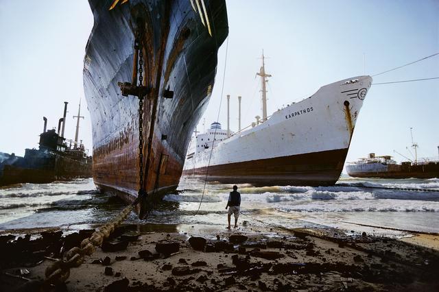 , 'SHIP BREAKING YARD, KARACHI,' 1985, Huxley-Parlour