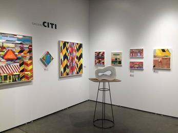 Art Silicon Valley International Art Fair - Booth Andra Norris Gallery (then, Gallerie Citi) 2015