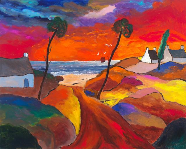, 'Sur la Cote Bretonne un Soir d'Octobre,' 2016, Canfin Gallery