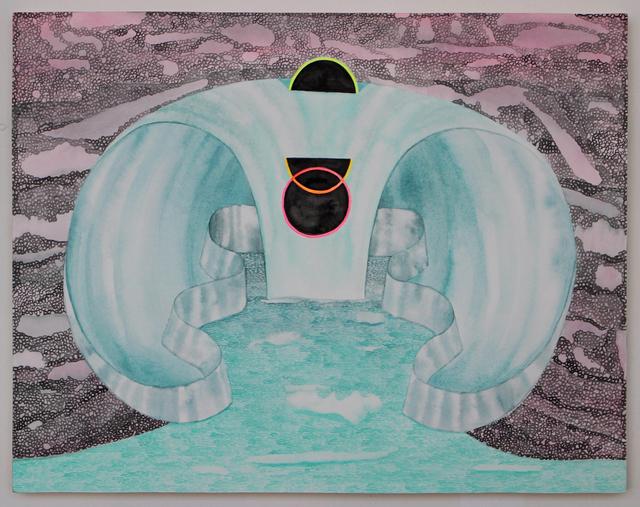 , 'Black Moon Venn,' 2017, CRUSHCURATORIAL