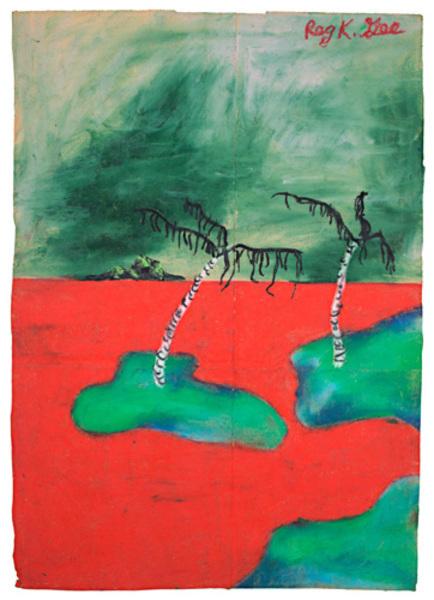 Reginald K Gee, 'Red Sands Golf Course', 1997, David Barnett Gallery