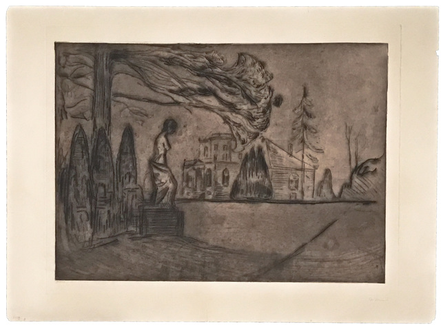 , 'Hagen om Natten (The Garden at Night),' 1902, John Szoke