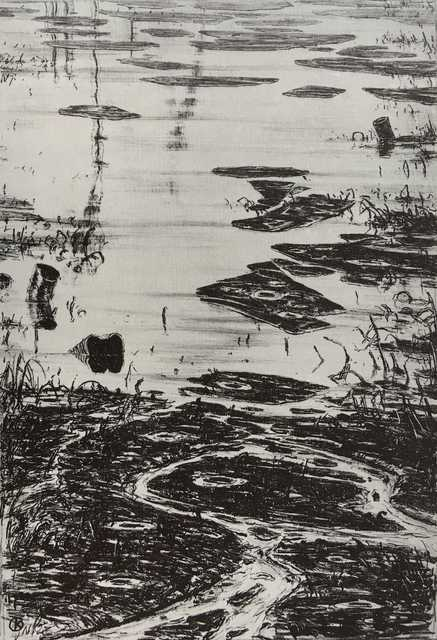 , 'Pétrolnymphéas,' 1981, Jean-Marie Oger