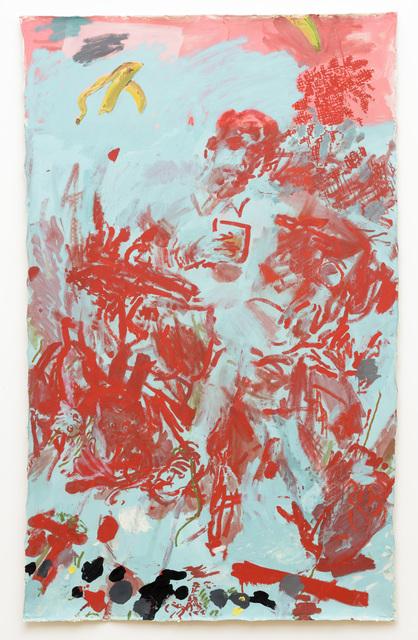 , 'Seated Figure with Banana Skin,' 2016, Samuel Freeman