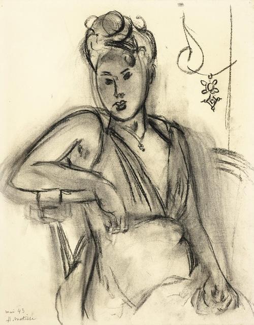 , 'Femme assise (Michaela),' 1943, Daphne Alazraki Fine Art