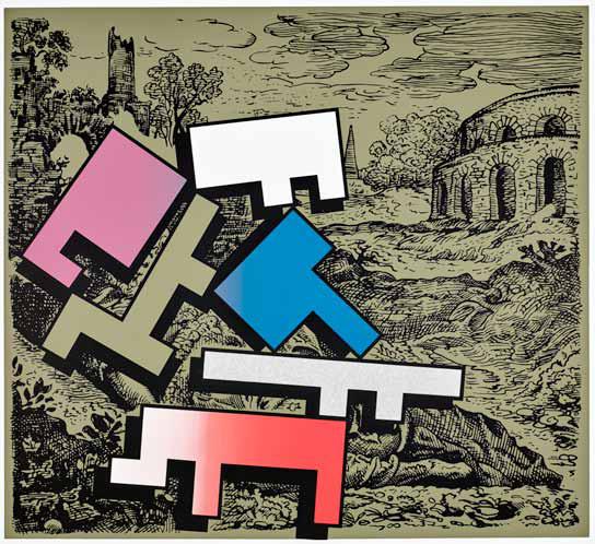 , 'Piecing Together 3,' 2018, Galerie Kleindienst