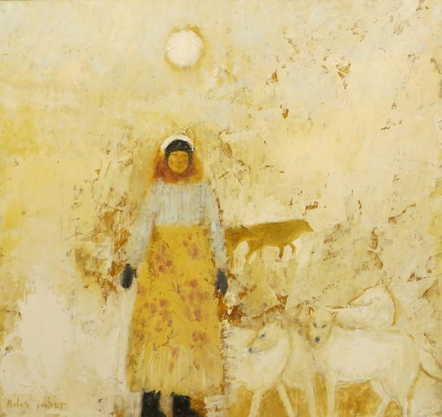 , 'Snow Girl,' 2019, Thompson's Galleries