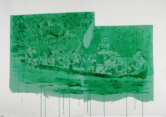 , 'Rio atrato,' 2015, Galería de la Oficina