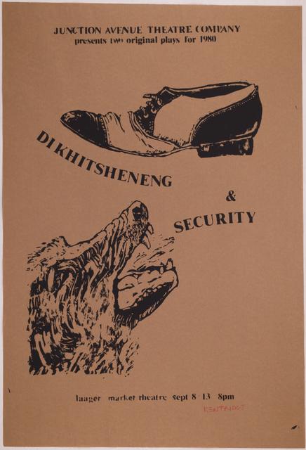 , 'Dikhitsheneng & Security,' 1980, Sylvan Cole Gallery