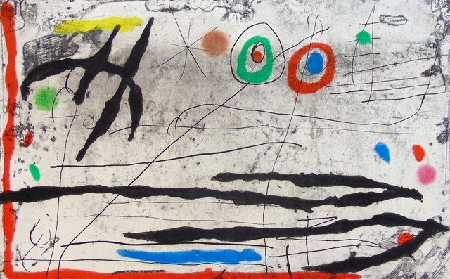 Joan Miró, 'Mark on the Wall I |Trace Sur La Paroi I', 1967, Gilden's Art Gallery