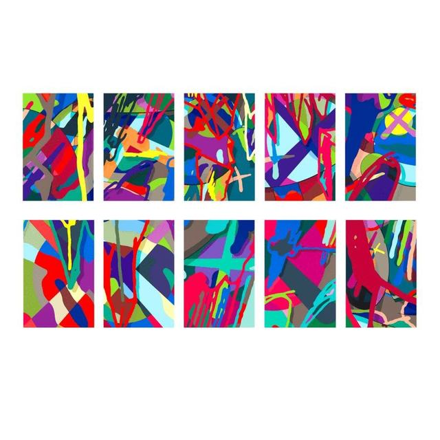 KAWS, 'Tension (Portfolio)', 2019, Pop Fine Art