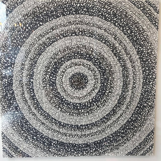 """, '""""Concentric Ink 2"""",' 2019, Parlor Gallery"""