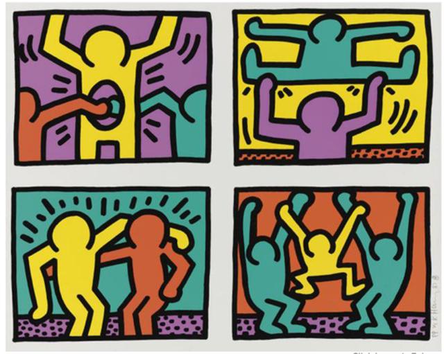Keith Haring, 'Pop Shop Quad I', 1987, Joseph K. Levene Fine Art, Ltd.