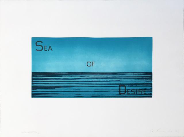 Ed Ruscha, 'Sea of Desire', 1983, Hamilton-Selway Fine Art
