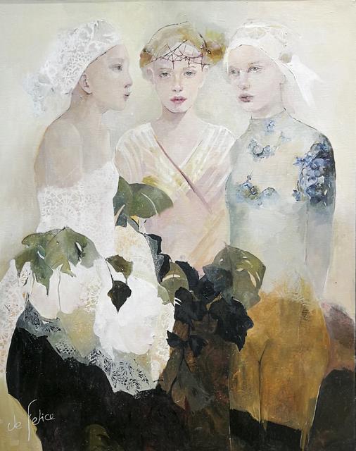 , 'La cérémonie,' 2018, Galerie Calderone