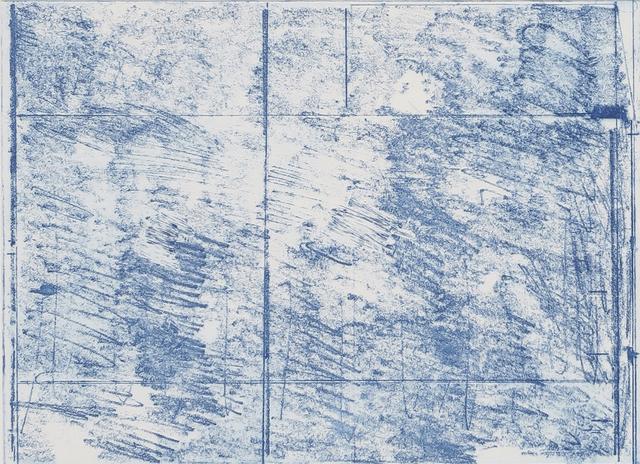 , 'Blue Horizontal,' 2016, BERG Contemporary