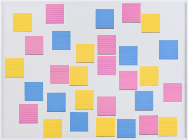 , 'Post-its II,' 2013, Galeria Enrique Guerrero