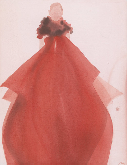 , 'Red Evening Dress (Gucci),' 2011, CFHILL